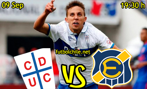 Ver stream hd youtube facebook movil android ios iphone table ipad windows mac linux resultado en vivo, online: Universidad Católica vs Everton
