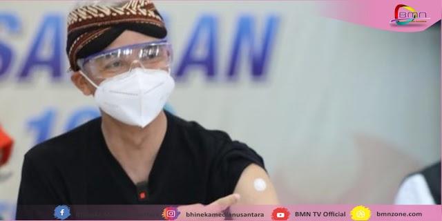 Ganjar Siapkan Plant-B Proses Vaksinasi Saat Puasa Ramadhan