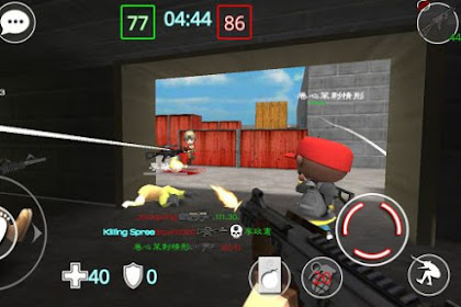 Download Game Critical Strikers Online FPS Apk v1.7.7.2 Mod (Ammo/Speed)