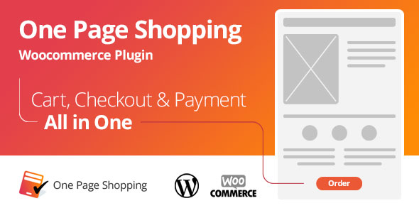 Free Download WooCommerce One Page Shopping V2.5.2 Wordpress Plugin