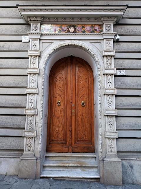 Entrata di Villa Nespolo Lajolo