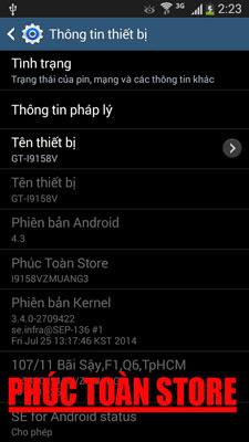 Tiếng Việt Samsung I9158V alt
