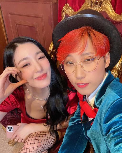 SNSD Tiffany with MMTG Jaejae