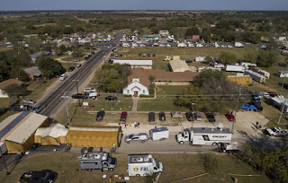 Texas church gunman once fled mental health facility