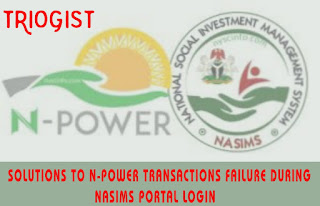 Solution To Nasims Portal Login Failure