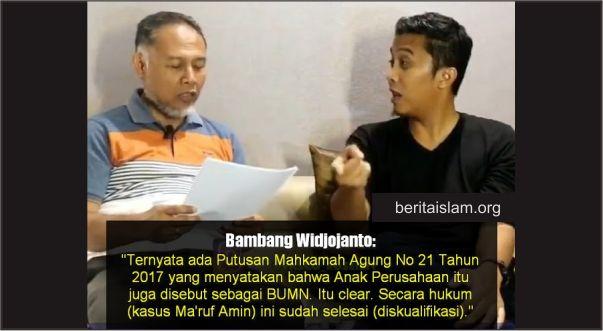 BW: Putusan MA, Anak Perusahaan Termasuk BUMN