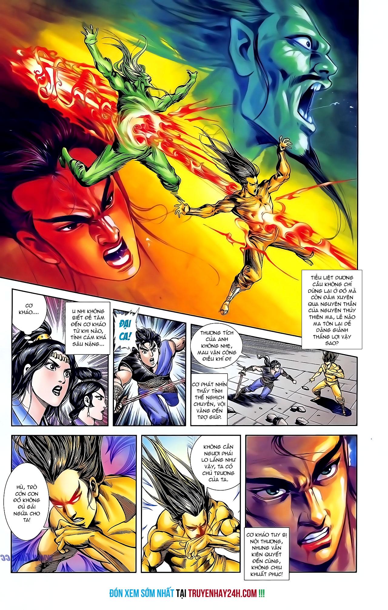 Cơ Phát Khai Chu Bản chapter 125 trang 29
