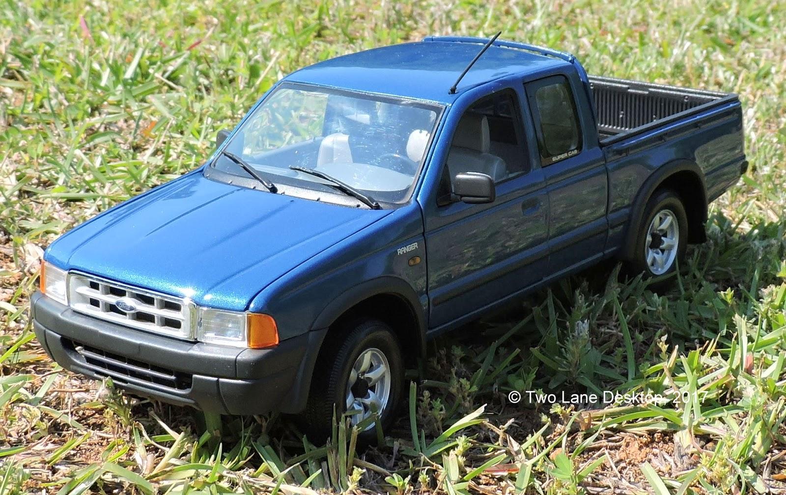 Two Lane Desktop: Action 1:18 2001 Ford Ranger Pickup