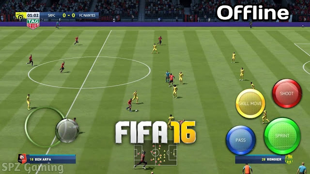 Download FIFA 16 Ultimate Team Mod Android Offline Best Graphics Apk+Obb