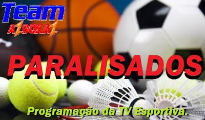 Programação da TV Esportiva ''Domingo'' 05/04/20