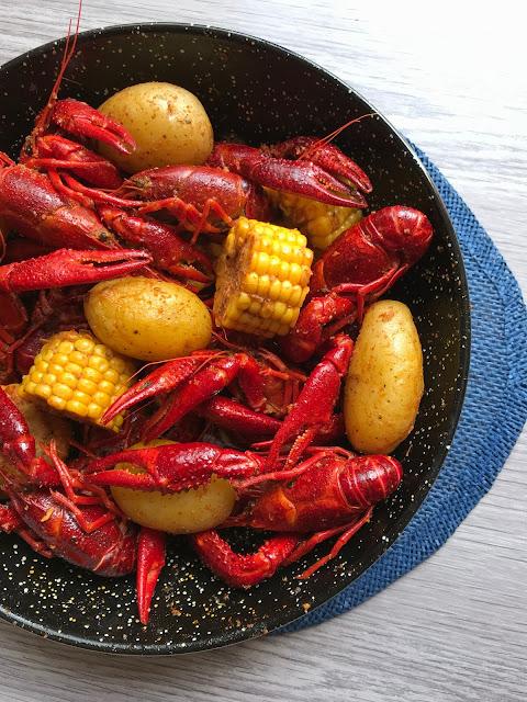 cangrejos de río estilo cajún receta