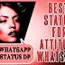 Attitude Status in Hindi [*Attitude status*] Best Attitude s