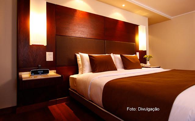 Quarto do Hotel Reina Isabel, em La Mariscal, Quito