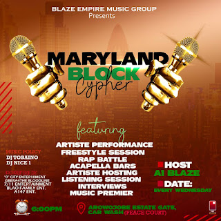 [BATTLE FOR FAME] MARYLAND BLOCK CYPHER