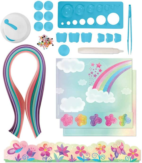 unicorn and dragon quilling kit supplies