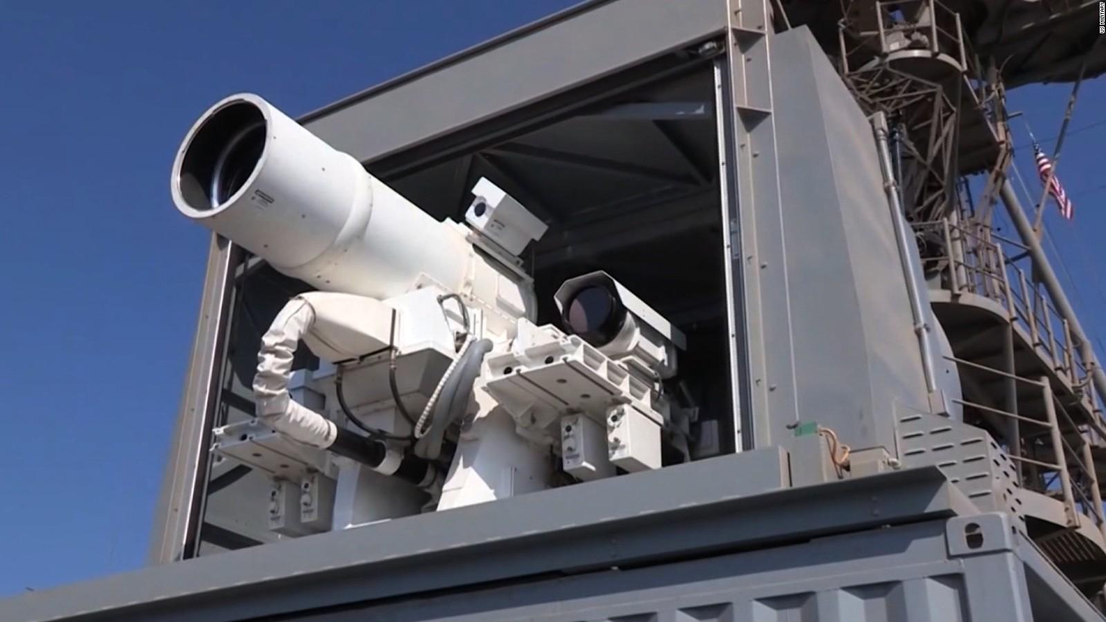 estados unidos prueba la primera arma laser