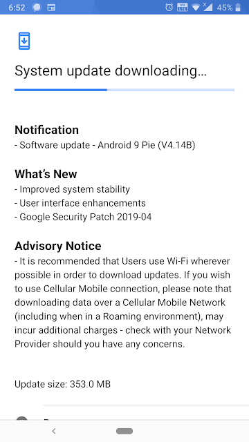 Nokia 8 Sirocco receiving April 2019 Android Security update