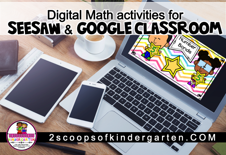 seesaw and google slides math activities perfect for e-learning