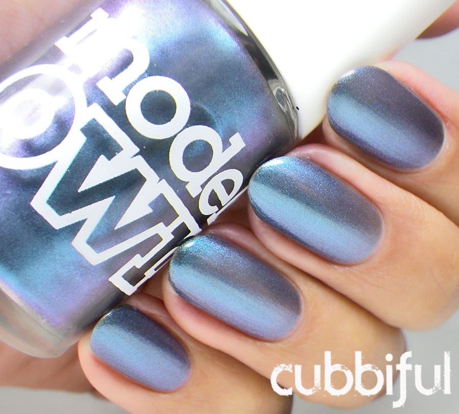 swatch Model Own Aqua Violet Beetlejuice Collection