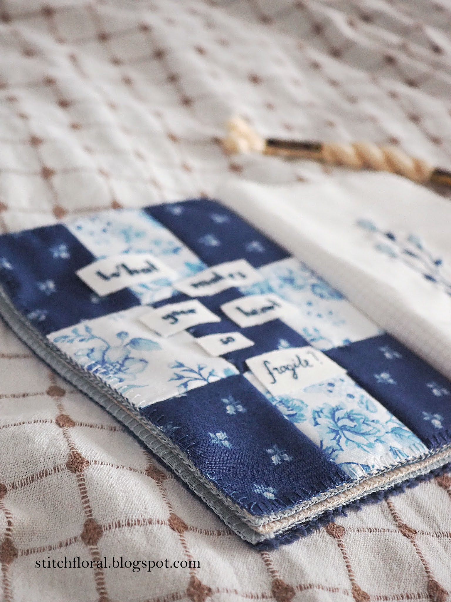 patchwork stitch book
