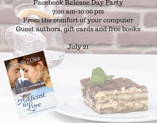 Book Release Day Party!