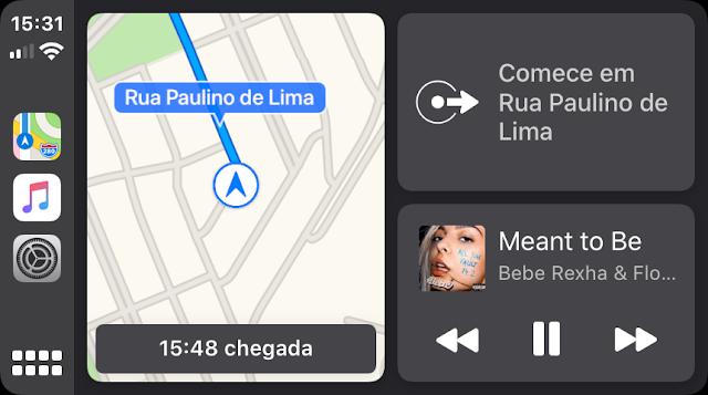 Novo painel e Mapas da Apple já funcionam com o CarPlay