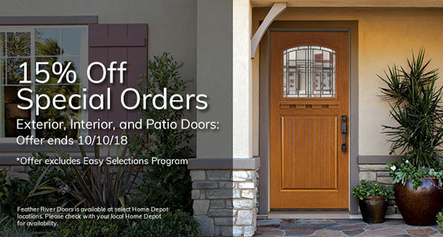 Sale 15 Off Exterior Interior And Patio Doors Special Order 10