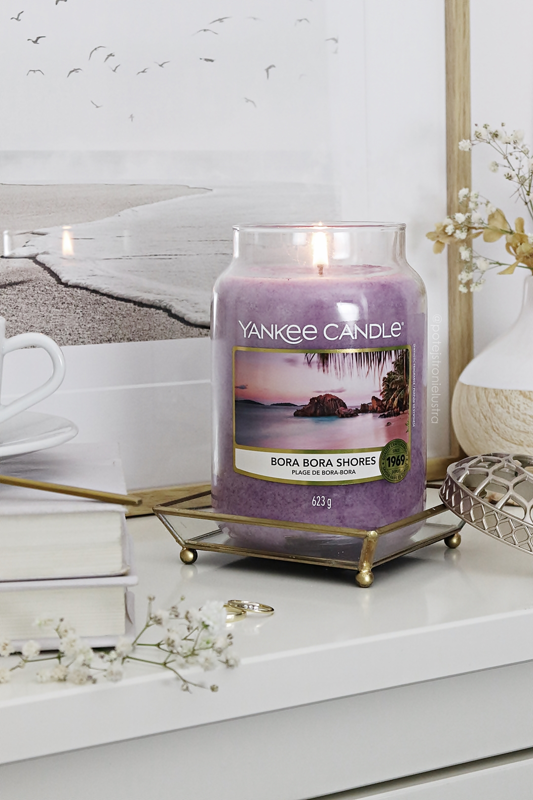 świeca zapachowa yankee candle bora bora shores