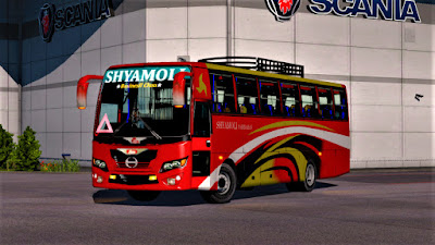 Hino AK 1J With 7 Front & 8 Back