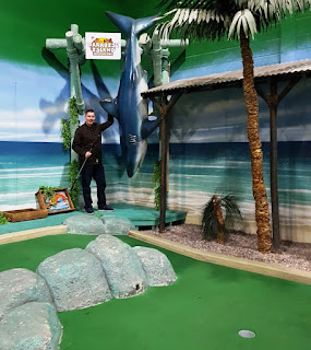 Paradise Island Adventure Golf at the Trafford Centre in Manchester
