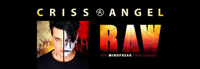 Illusionist Criss Angel in Clearwater, FL. December 13th, 2019 at Ruth Eckerd Hall.