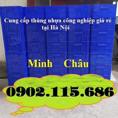 TT2 - Hop nhua co khi, thung nhua co khi, thung nhua cong nghiep, hop nhua cong nghiep, hộp nhựa trữ đông,