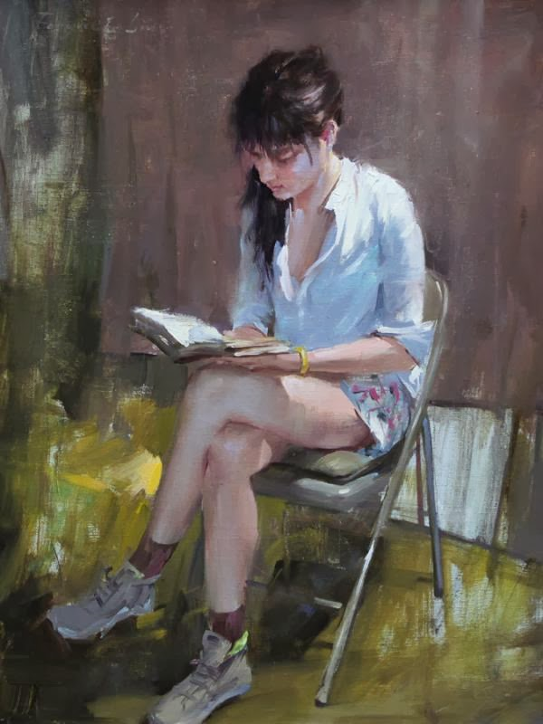 Paintings by Chinese Artist Fongwei Liu
