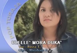 Lirik Lagu Toraja Ulelle' Mora Duka' (Rista Tangirerung)