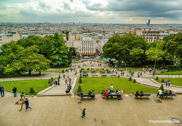 Paris vista de Montmartre