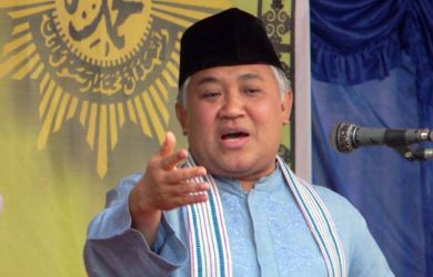Din Syamsuddin Anggap Jokowi Hanya Sekadar Omong Kosong