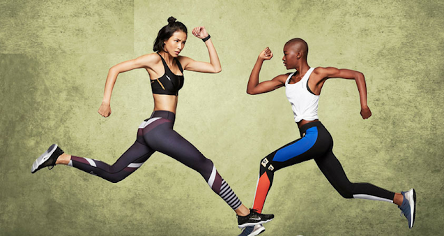 2 women activewear