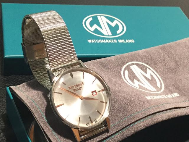 ウォッチメーカーミラノ 時計 シンプル オールマイティ