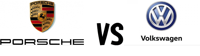 Porshce vs Wolkswagen