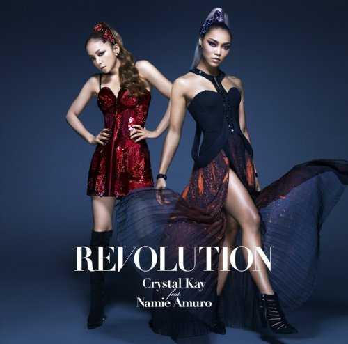 [Single] Crystal Kay feat.安室奈美恵 – REVOLUTION (2015.09.16/MP3/RAR)