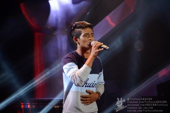 Daniel Ombao sings 'Tadhana' on 'The Voice of the Philippines' Season 2