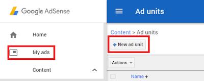 Cara Memasang Unit Iklan In-Feed  Google Adsense Diantara Daftar Postingan Beranda