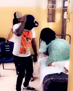 Cossy Ojiakor Dances On Hospital Bed 8