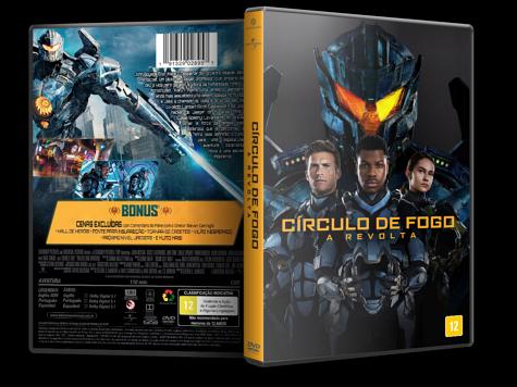 Capa DVD Círculo de Fogo: A Revolta