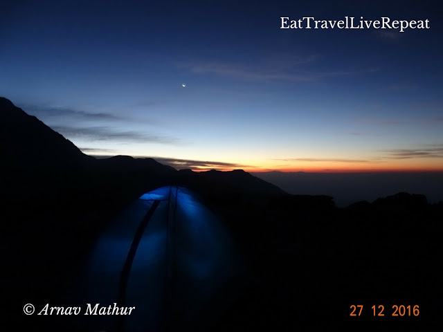 Twilight time at triund