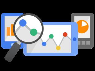 Crea una infografía de Google Analytics.