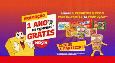 promoção nissin 01 ano de compras gratis