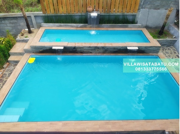 Villa 3 Kamar Fasilitas Kolam Renang | Kota Batu Jawa Timur