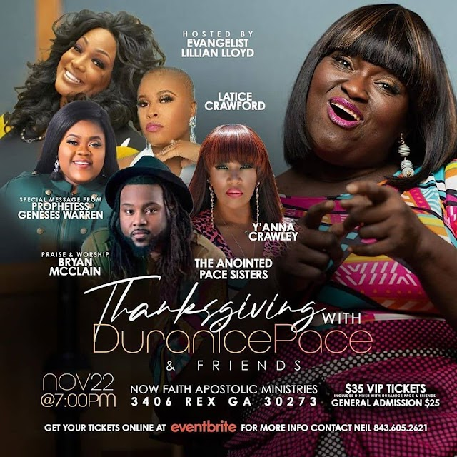 [Events] Thanksgiving With DuranicePace & Friends    Nov 22 (7pm)