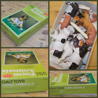 Boxed Farm; Boxed Toy; Britains Farm; Britains Herald; Britains Poultry; Cows; Farm and Zoo; Farm Animals; Farm Chicks; Farm Hand; Farm Toys; Farm Worker Toy; Farmer Feeding; Farming Figures & Animals; Foal; Galt; Galt Toys; Herald Chickens; Herald Collie Dog; Horses; Piglets; Pigs; Small Scale World; smallscaleworld.blogspot.com;